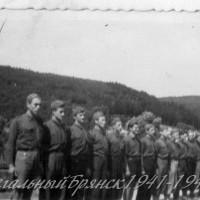 1939 год около Праги Старшая группа роверов ОРЮР слева Брунст Павлов Д. Каменецкий Ромберг Трегубов и др